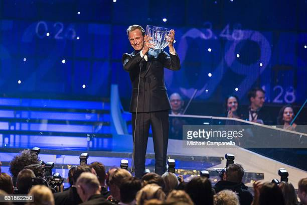 Peder Fredricson wins the Jerringpriset award during the 2017 Sweden Sports Gala held at the Ericsson Globe Arena on January 16, 2017 in Stockholm,...