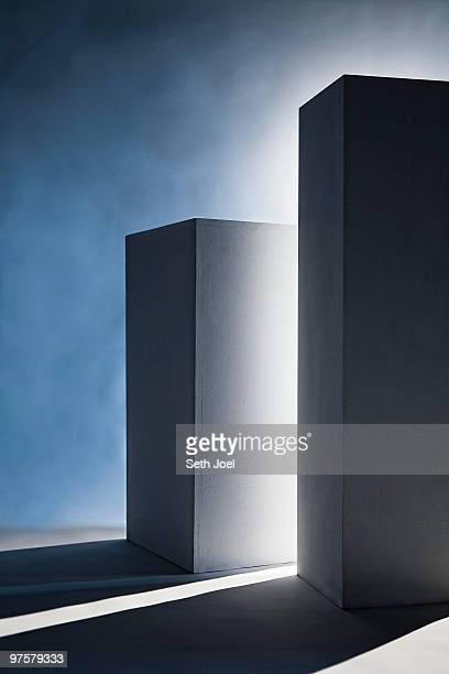 Pedestals for display of art or objects