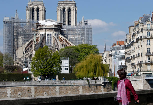 FRA: Notre-Dame : Two Years After Being Damaged By The fire On April 15, 2019