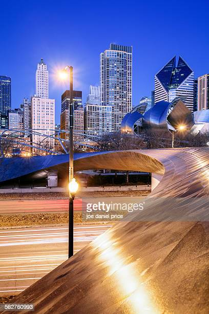 BP Pedestrian bridge and trails, Chicago, Illinois