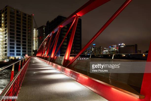 Pedestrian bridge in Canning Town Canning Town London United Kingdom Architect N/A 2017
