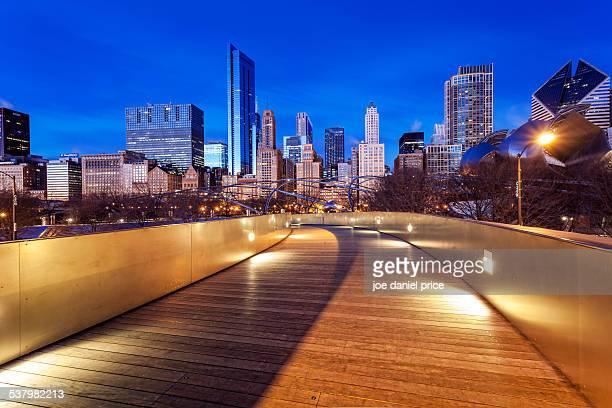 BP Pedestrian Bridge, Millennium Park, Chicago, IL