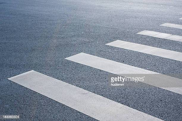 pedestrian crossing - pedestrian crossing stock photos and pictures