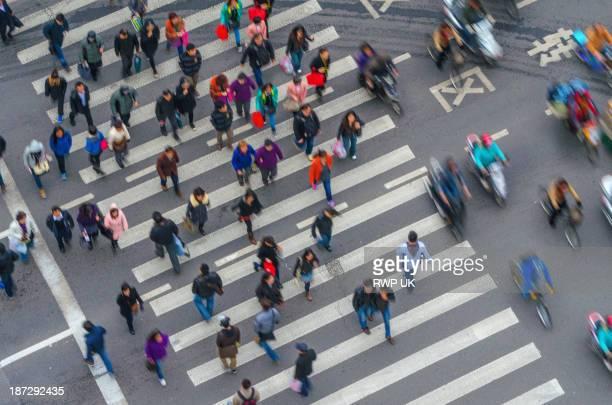 Pedestrian Crossing, Shanghai