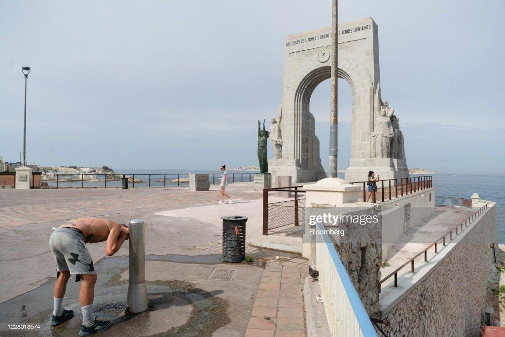 Mediterranean Coast Sees French Tourism Revenue Falling : News Photo
