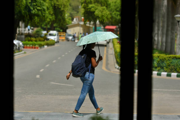 IND: Hot Weather In Delhi-NCR