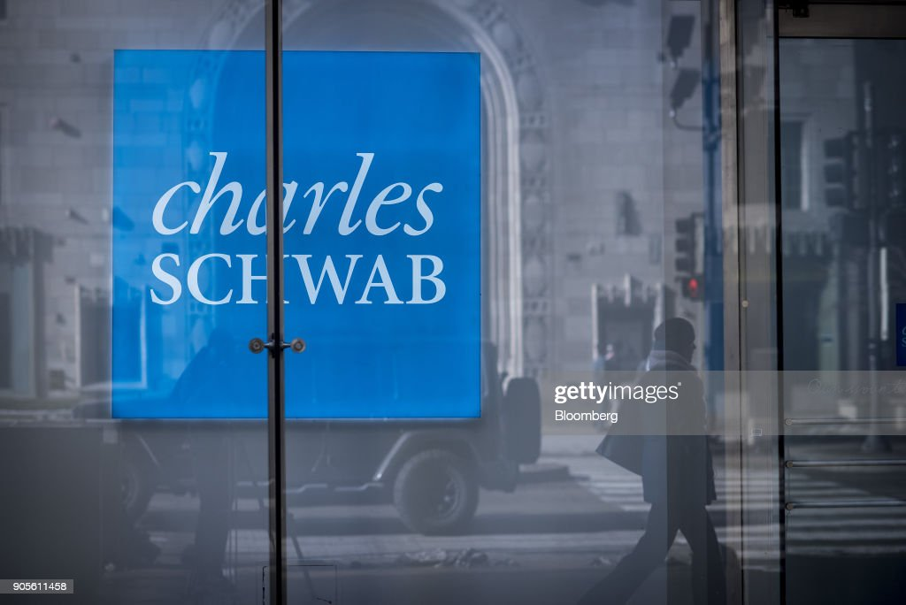 A Charles Schwab Corp. Branch Ahead Of Earnings Figures