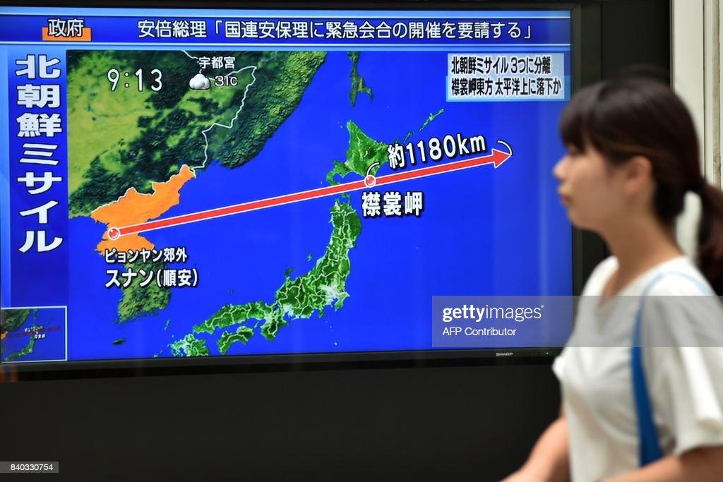 JAPAN-NKOREA-MISSILE-DIPLOMACY : News Photo
