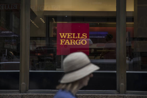 NY: A Wells Fargo & Co. Bank Location Ahead Of Earnings Figures