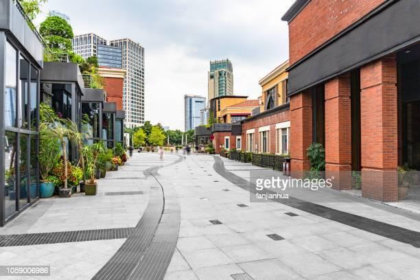 pedestrian street,suzhou - urban road stock pictures, royalty-free photos & images