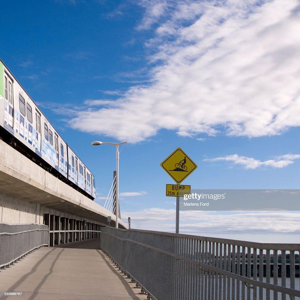 Pedestrian underpass : Foto stock