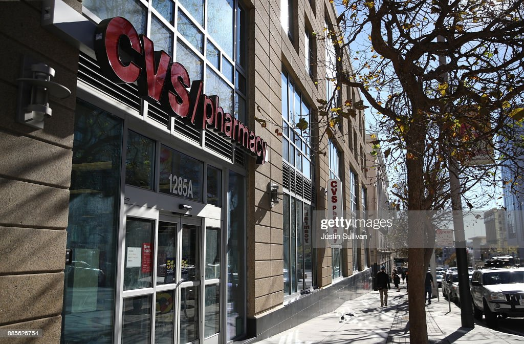 CVS Acquires Aetna For $69 Billion In Major Health Industry Deal : News Photo