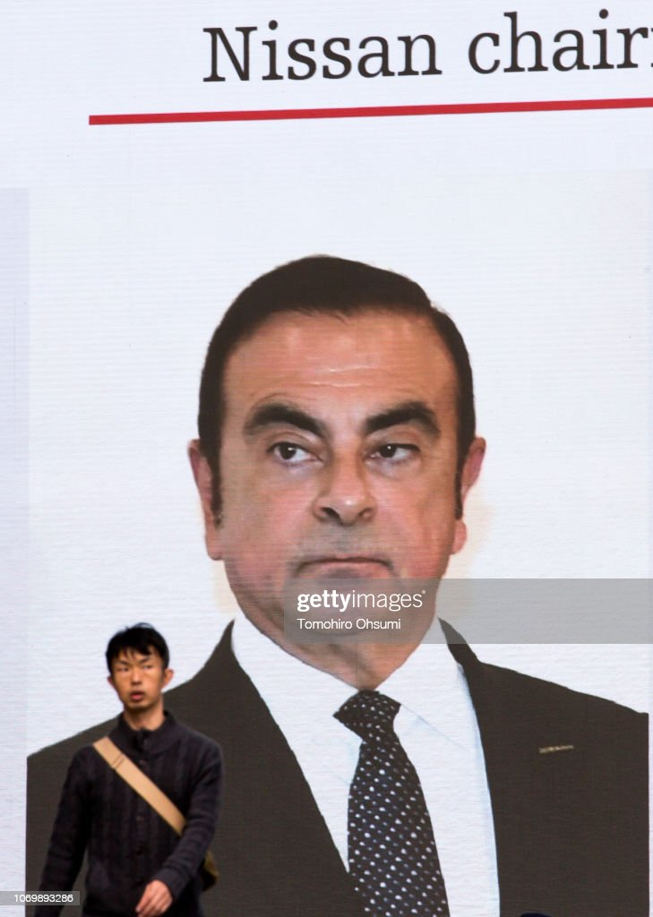 JPN: Carlos Ghosn Arrested For Financial Misconduct