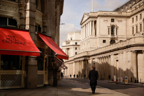 GBR: City of London Economy On Bank of England Interest Rate Decision Day