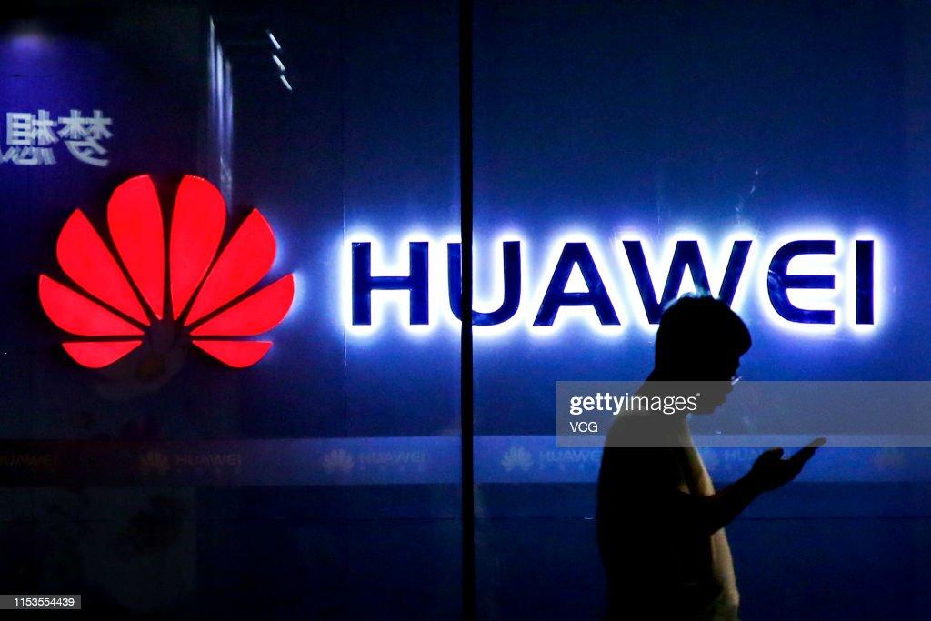 Huawei In China : News Photo