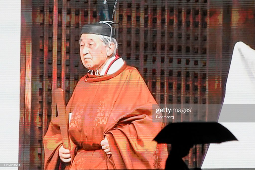 Japan Counts Down to a New Era as Emperor Akihito Abdicates : News Photo