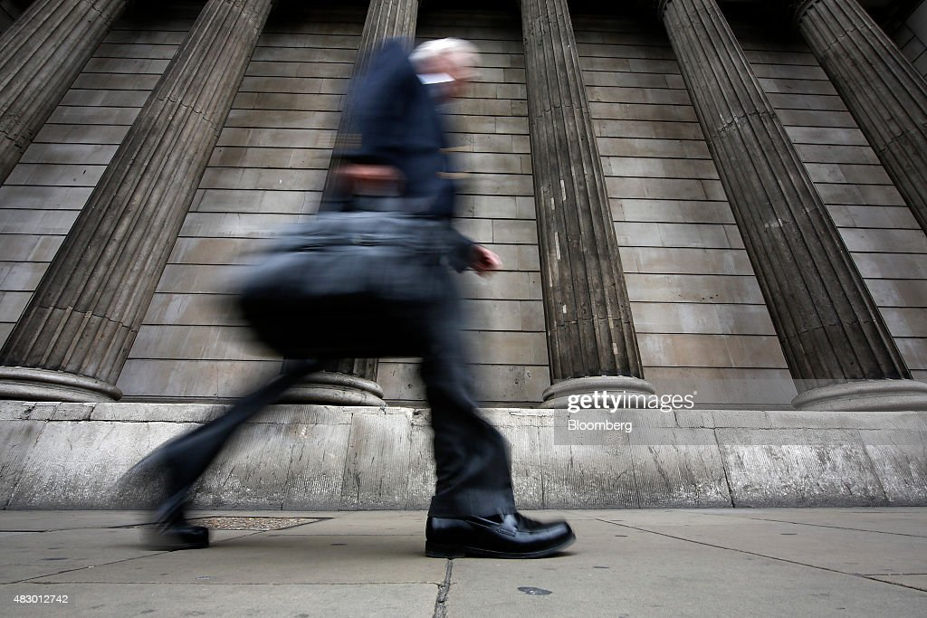Views Of The Bank Of England As Policy Setter Prepares To Release Rates Decision : News Photo