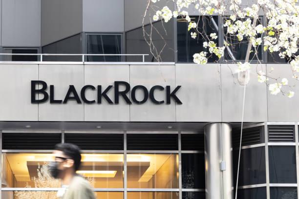 NY: BlackRock Headquarters Ahead Of Earnings Figures