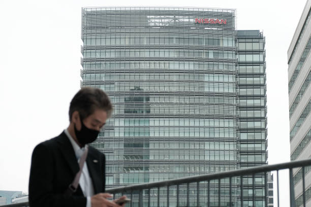JPN: Nissan Motor Co. Headquarters and Dealership Ahead of Earnings Announcement