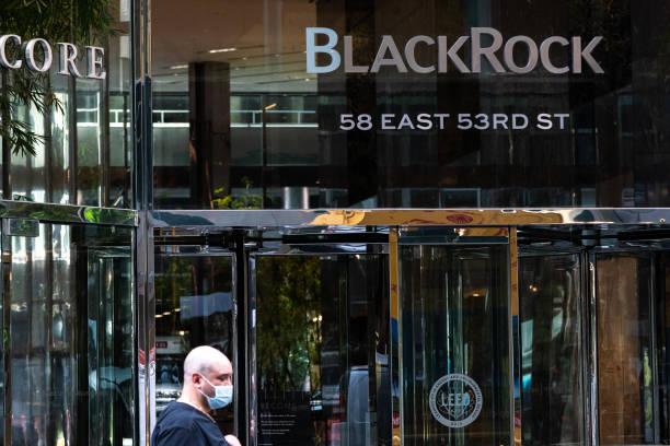 NY: BlackRock Headquarters Ahead Of Earning Figures