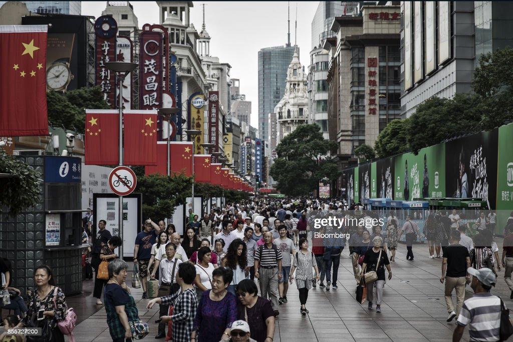 Retail Consumers Ahead of China's National Day Celebrations : News Photo
