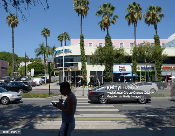 Pedestrians cross Santa Monica Boulevard in West Hollywood on Tuesday The West Hollywood City Council is likely to vote Monday night to signalize...