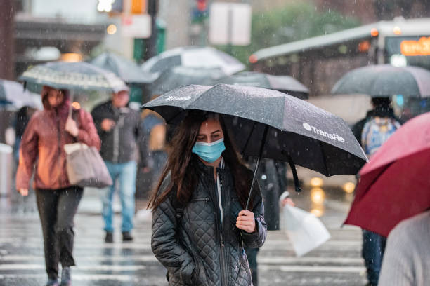 NY: NYC Faces Flash Flood Watch, Travel Advisory As Storm Moves In
