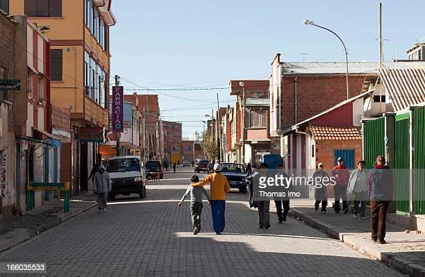 Pedestrians on a street