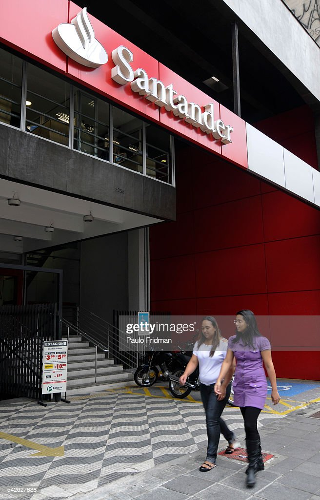 Brazil Business Santander Bank News Photo