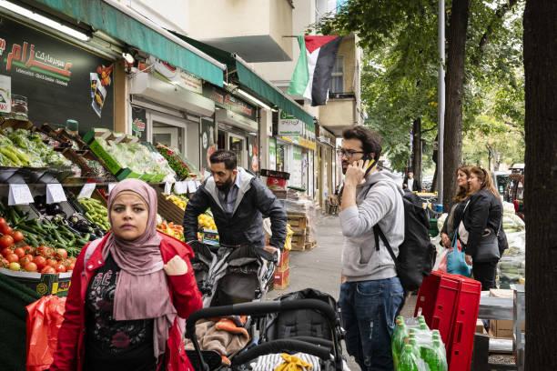 DEU: Merkel's Legacy Comes to Life on Berlin's 'Arab Street'