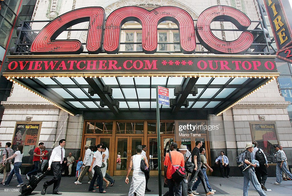 Movie Theater Chains AMC And Loews To Merge : News Photo