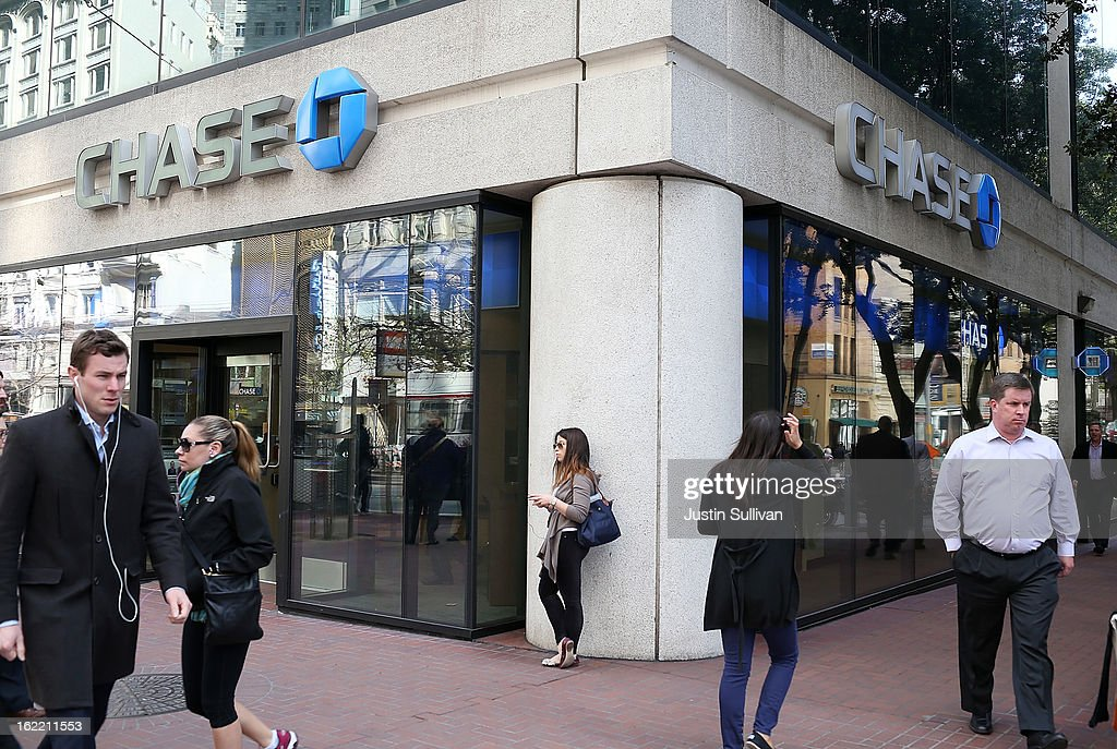 JP Morgan Chase Keeps Loan-To-Deposit Ratio Lowest Of Big Banks : News Photo