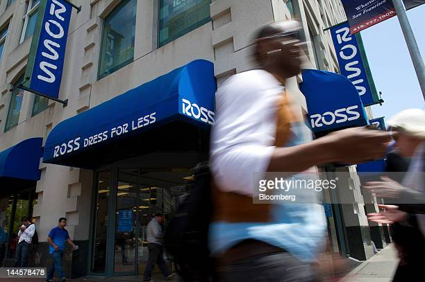Pedestrians pass in front of a Ross Stores Inc. Location in San Francisco, California, U.S., on Tuesday, May 15, 2012. Ross Stores Inc. Is scheduled...