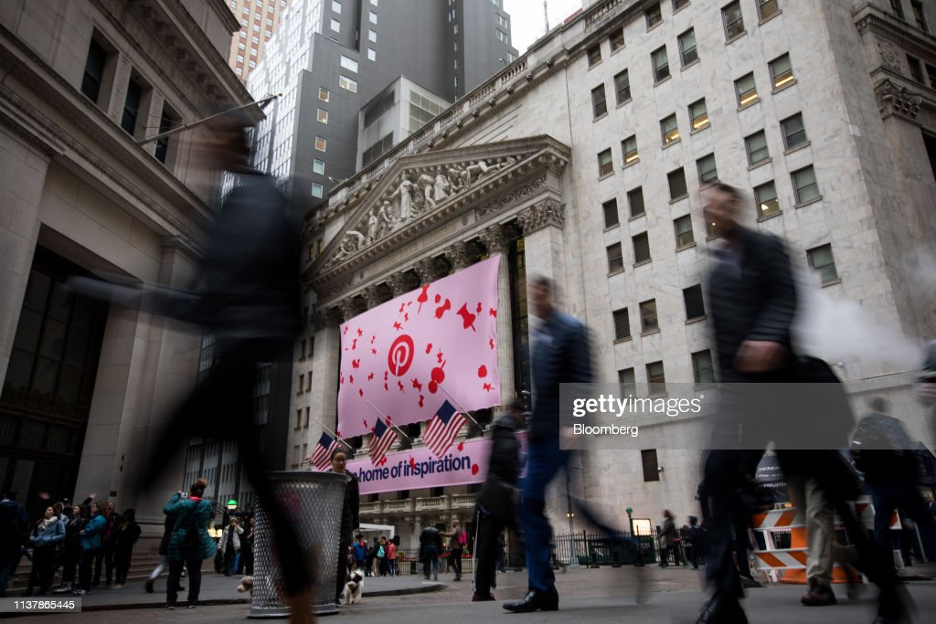 NY: Trading On The Floor Of NYSE As Pinterest Releases IPO