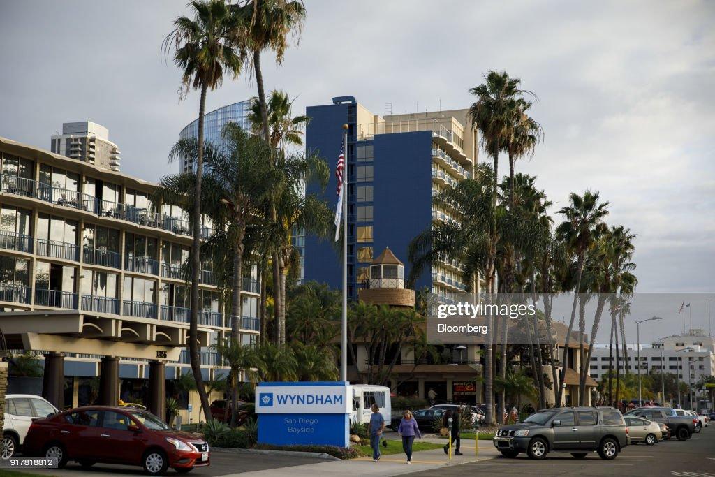 A Wyndham Worldwide Corp Hotel Ahead Of Earnings Figures Photos