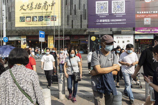 CHN: Shangxiajiu Shopping District in Guangzhou