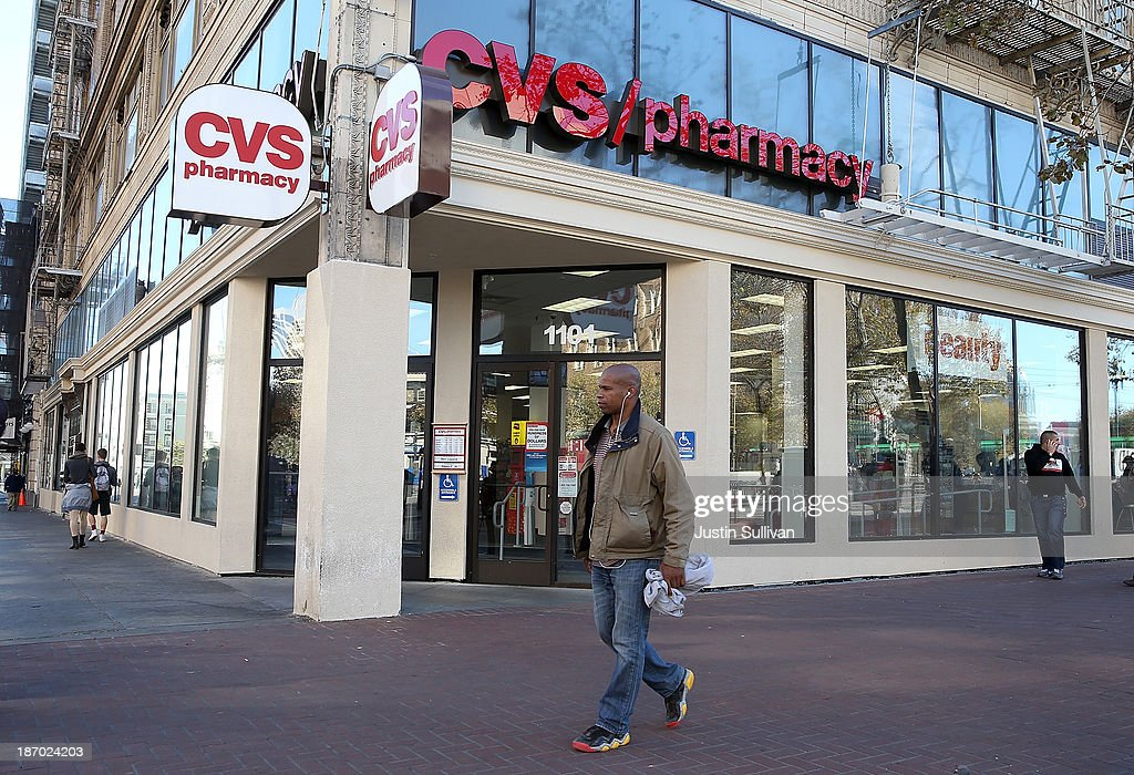 CVS Caremark Reports Quarterly Profit Increase Of 25 Percent : News Photo