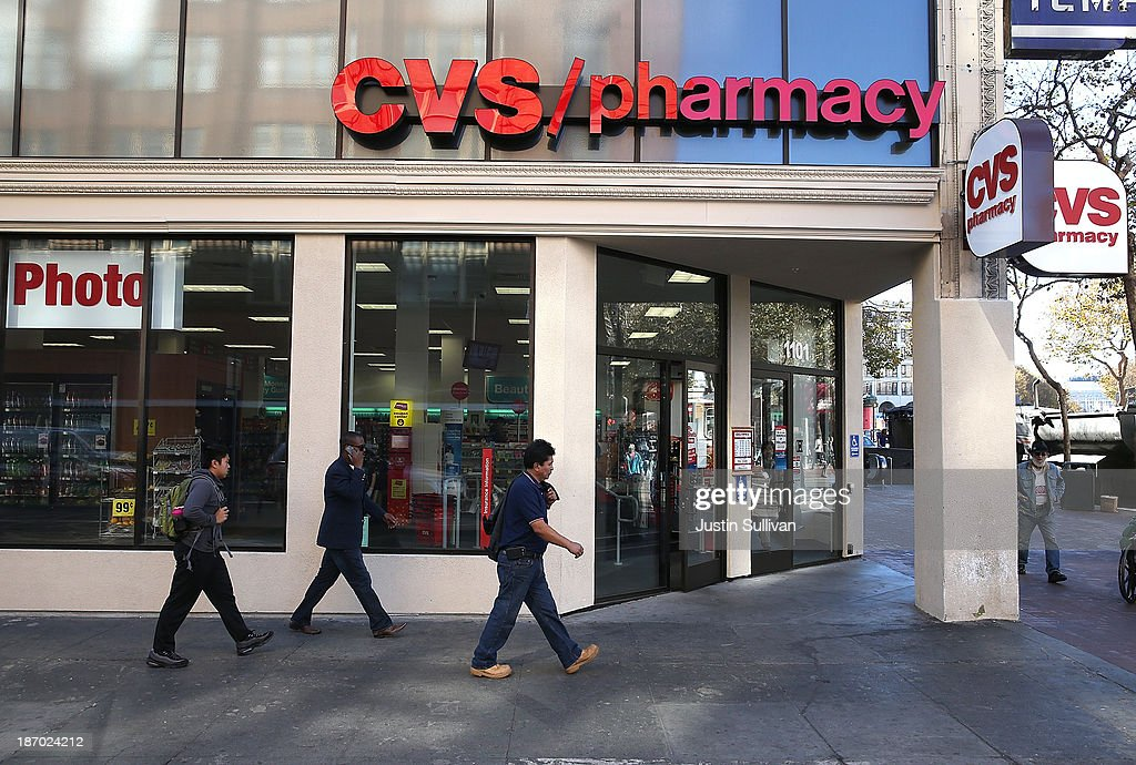 CVS Caremark Reports Quarterly Profit Increase Of 25 Percent : News Photo