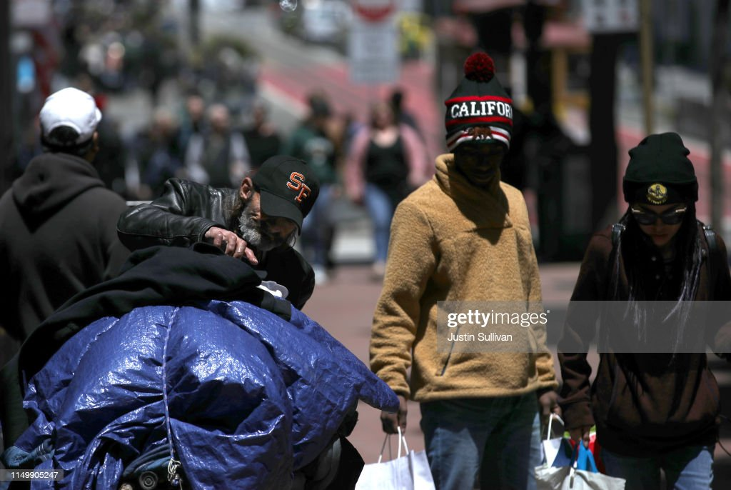 Number Of Homeless On San Francisco Streets Rises 17 Percent Over Last Two Years : News Photo