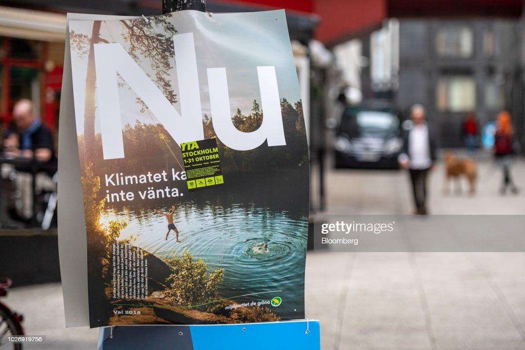 Marsch for klimatet i stockholm