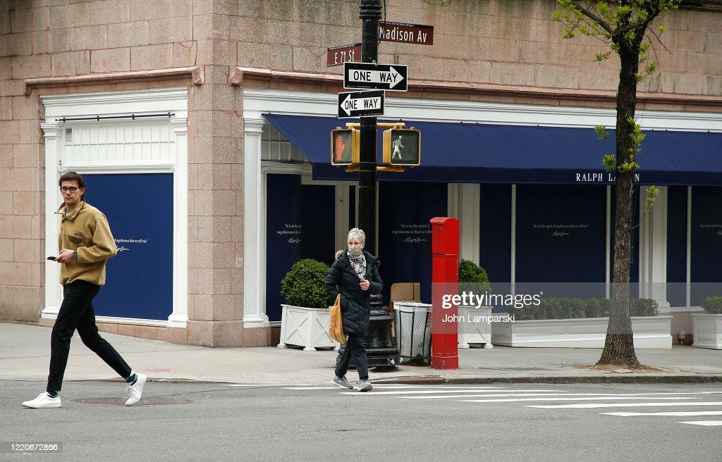New York City Continues To Idle During Coronavirus Shutdown : News Photo