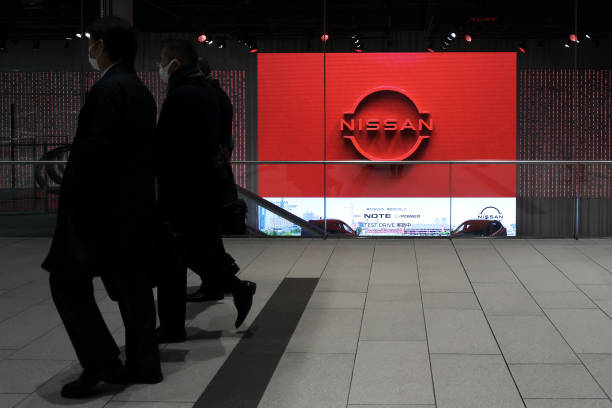 JPN: Nissan Motor Headquarters As The Automaker Boasts Brexit Advantage With Rare U.K. Battery Supply