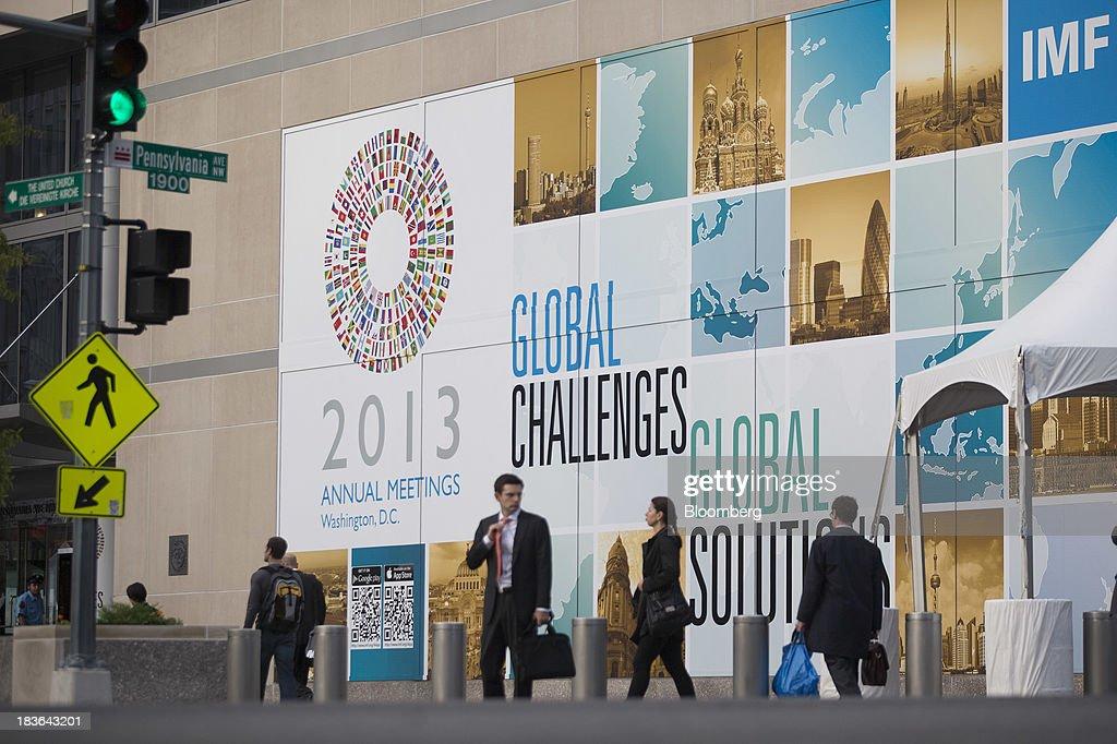 World Economic Outlook With IMF Chief Economist Olivier Blanchard : News Photo