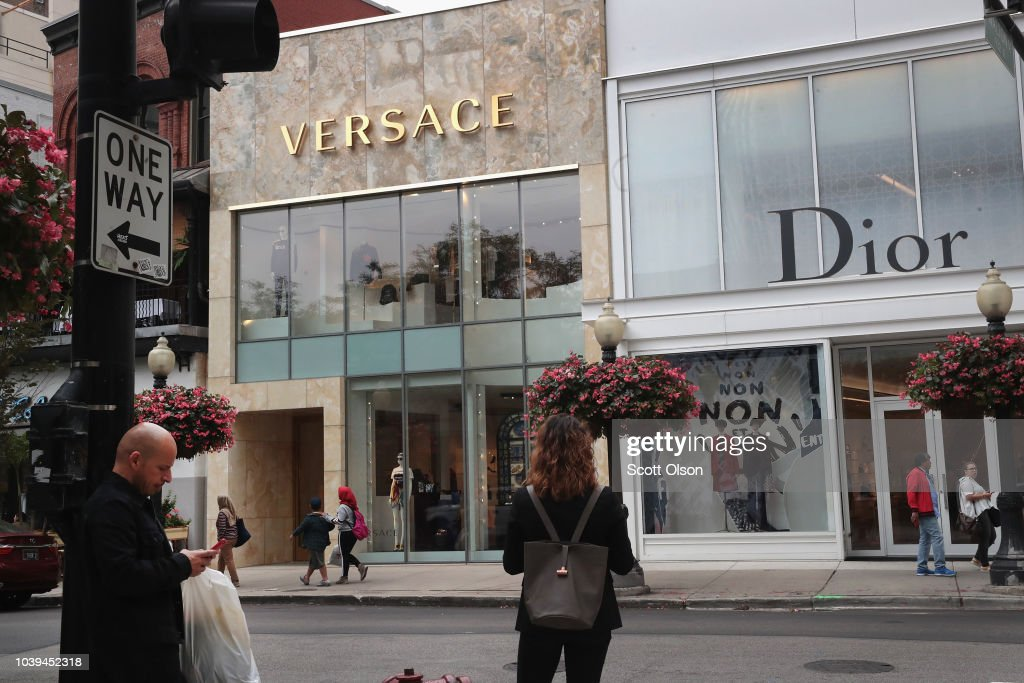 Reports Show Michael Kors Close To Purchasing Versace : News Photo