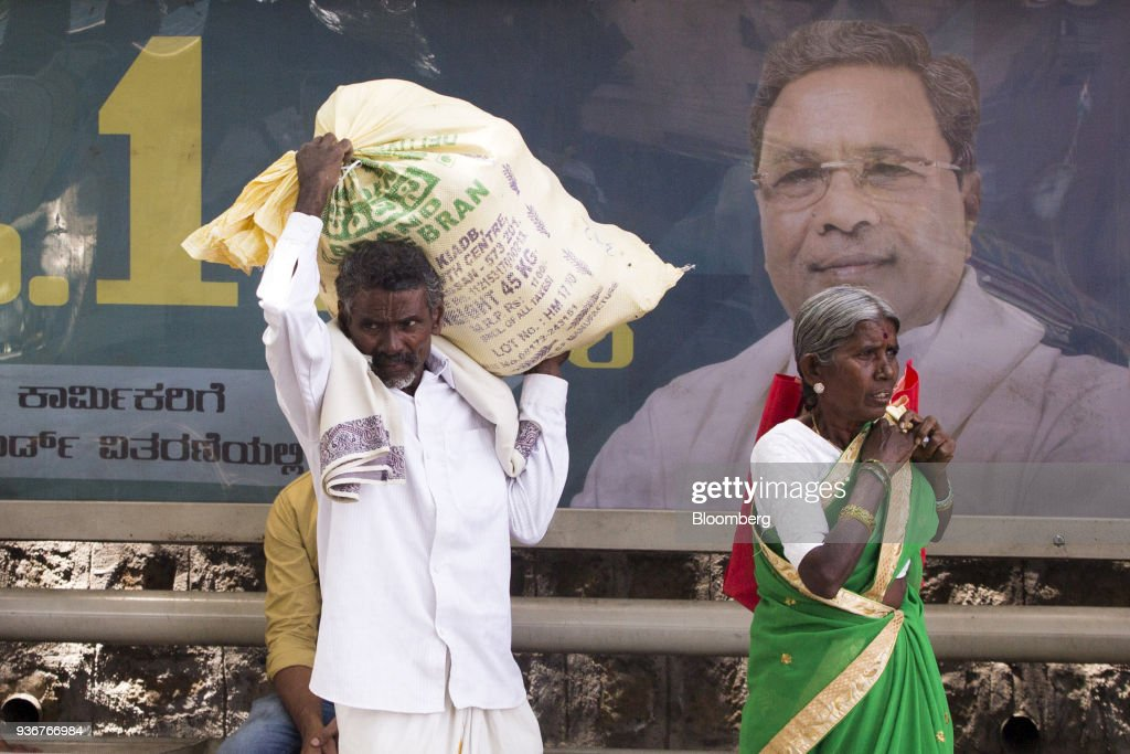Campaign Imagery and Farmers as Modi Fights for India Swing State