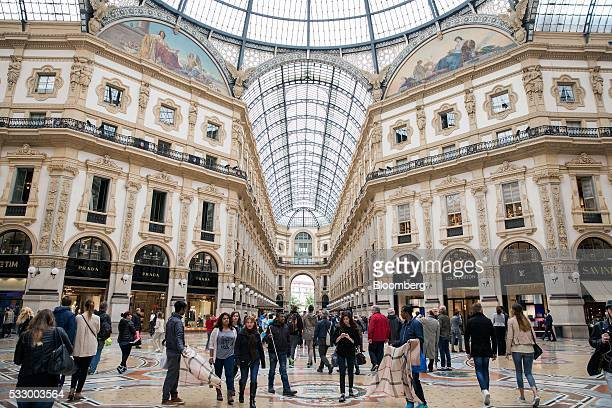 Galleria Vittorio Emanuele Ii Stock Photos And Pictures Getty Images
