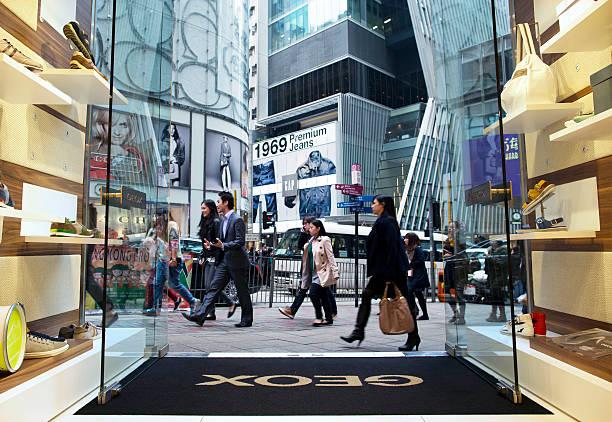 Photos et images de Inside The Geox SpA Flagship Store