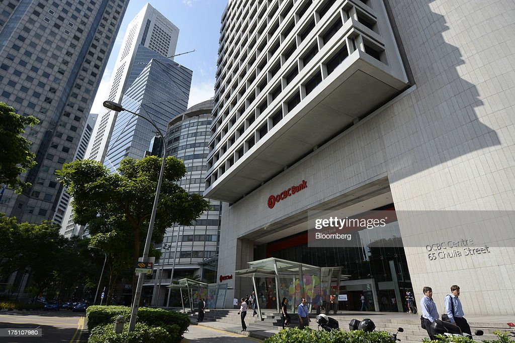 Images Of Oversea-Chinese Banking Corp. Ahead Of 2Q Earnings Announcement : News Photo