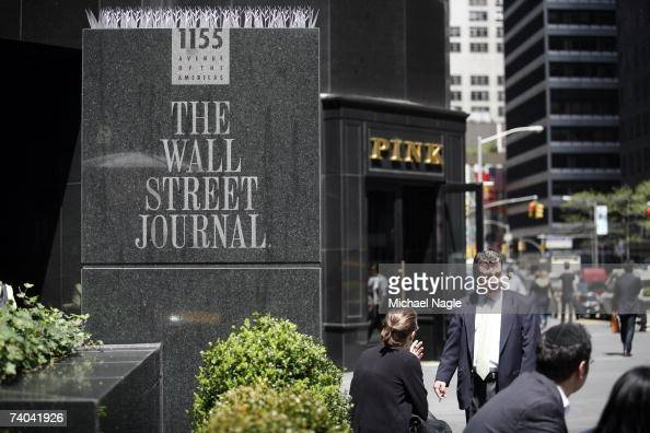 News Corp Makes Unsolicited Bid For WSJ Parent Dow Jones Photos and Images | Getty Images