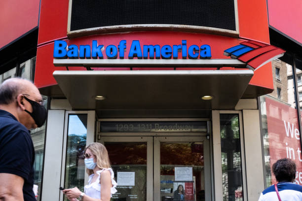 NY: Bank Of America Locations Ahead Of Earnings Figures